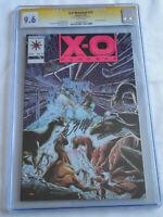 X-O Manowar # 15 CGC 9.6 (not 9.8) SS Bob Layton - Rare Pink Variant