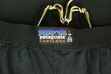 Vintage Patagonia Capilene Base Layer Sweatpants Thin Black USA Mens XL