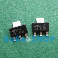60/100/1000/2500pcs AMS1117-3.3 LM1117 AMS1117 3.3V 1A Voltage Regulator SOT-223