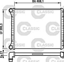Engine Cooling Radiator VALEO Fits AUDI A2 8Z0 Hatchback 1.2-1.6L 2000-2005
