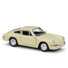 WELLY 1/36 1964 Porsche 911 Car Model Alloy Diecast Boys Birthday Gift Yellow