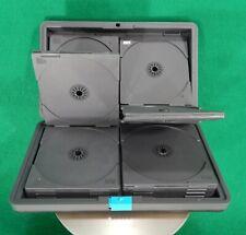 vintage LASERLINE CD / DVD storage case portable hard shell 24 disc