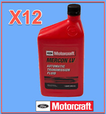 12 Quarts Genuine FORD Auto. Transmission Fluid Motorcraft XT10QLVC MERCON LV