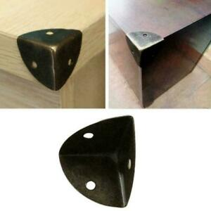 Metal Box Corner Protectors Edge Guard Protector 26x26x26mm Tone F1X9 Bronz X0H6