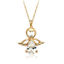 Fashion Jewelry - 18K Rose Gold Plated Angel Necklace (FN053)