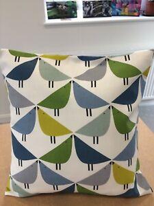 Harlequin Scion Fabric Cushion Cover - 'Lintu'  Gecko