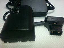 D-tap LP-E6 dummy Battery EOS Canon 5D/60D/70/6D/7D/MK2/III DC regulator adapter