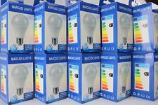 10 Stück LED 10W 220V 800lm E27 Glühbirne Birne Tageslicht weiß 6.000K Marcadi