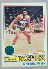 1977-78 Topps John Williamson Indian Pacers #44 Basketball Card Mint