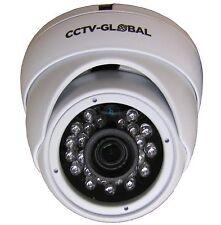 1080P WHITE HD TVI AHD CVI ANALOGUE CCTV DOME CAMERA 3.6mm FIXED LENS 20m IR