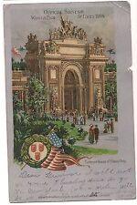 1904 St. Louis WORLD'S FAIR Entrance Palace of Liberal Arts Postcard UDB UB