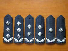 12's series China Police Commissioner Hard Shoulder Boards,Class I,II,III,3 Pair