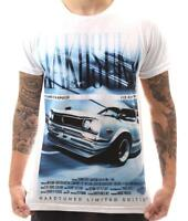 Hakosuka Skyline Legend JDM Car Turbo Drift Mens Black Cotton Tee Shirt
