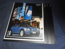 2005 All New BMW Mini Cooper Convertible Color Brochure Catalog Prospekt