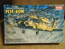 Academy 1/48 Us Army Mh-60K Bonus 1990 Ipms National Convention book and decals