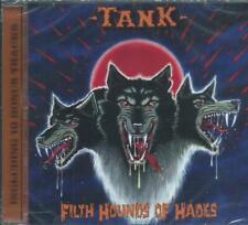 TANK - FILTH HOUNDS OF HADES 1982 BARE BONES NWOBHM TRIO + 10 BONUS TRKS SLD CD
