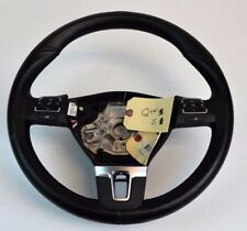 OEM VW Volkswagon Passat Steering Wheel Black Leather Buttons #3