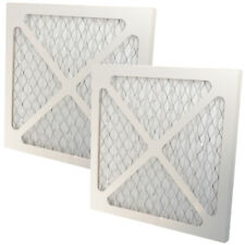 2-Pack Merv 6 Pleated Ac Furnace Air Filter for Heating & Ventilation Systems