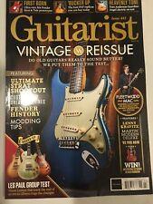 Guitarist Magazine March 2019 Lenny Kravitz Fender Custom Shop Barrie Cadogan