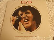 ELVIS PRESLEY RCA LP A LEGENDARY PERFORMER VOLUME 1  W/MEMORY LOG