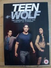 TEEN WOLF Saison 2 Tyler Posey Dylan O'Brien DVD Import UK Zone 2 D'occase TBE