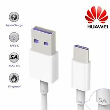 Cable Original Huawei HL1289 Super Charge 5A Tipo C  Mate 9, P9, P10 Plus