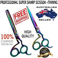 "New 6"" PROFESSIONAL HAIRDRESSING SALON HAIR CUTTING THINNING BARBER SCISSORS SET"