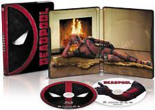 Marvel DEADPOOL (Blu-ray +DVD + UV Digital Code Steelbook) Ryan Reynolds