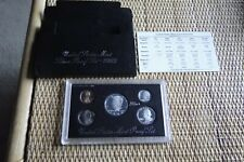 1992-S United States Mint Silver Proof Set, 5 Coin - Original Box with COA