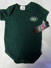New York Jets Football NFL Baby Cotton Bodysuit Creeper 3-6 months mo NEW NWT