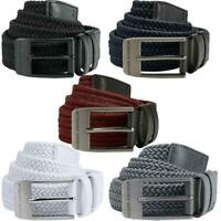 UNDER ARMOUR 2020 MENS 2.0 BRAIDED STRETCH-FIT WOVEN ELASTICATED GOLF BELT