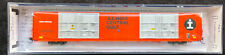 ILLINOIS CENTRAL GULF HI CUBE 86' AUTO PARTS BOX CAR TRAINWORX N NEW RARE OOP MT