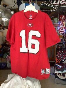 JOE MONTANA - Majestic - SF 49ers HALL OF FAME Shirt - Mens Extra Large..