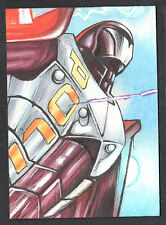 PROJECT SUPERPOWERS (Breygent/2011) SKETCH CARD by TREV MURPHY (#46/110)