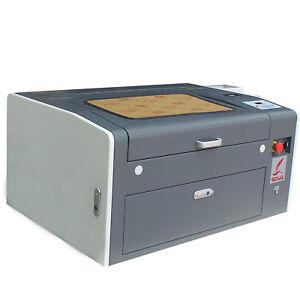 50W CO2 Desktop LASER ENGRAVING&CUTTING MACHINE 300*500mm Engraver