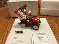 "Charming Tails ""Headin Home For The Holidays "" Dean Griff Christmas With Mini"