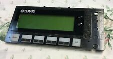 yamaha aw1600 display part includes buttons
