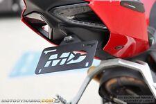 12-17 Ducati 899 959 1199 1299 Fender Eliminator Kit w/ LED License Plate Light