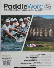 Paddle World UK Vol 13 2017 Kayak Fishing Canoe Race Whitewater FREE SHIPPING sb