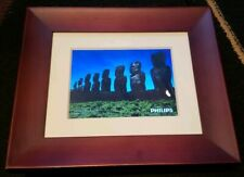 Philips 7-Inch Digital PhotoFrame SPF Electronic Picture Frame Brown Tested