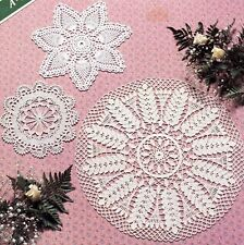 Asn/Doilies! Leaflet/Doily/Crochet Pattern Instructions Only