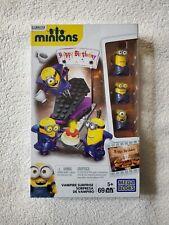 Mega Blocks Minions Happy Birthday Vampire Surprise Build It