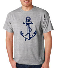 NAUTICAL SHIP ANCHOR T-Shirt sailor diver sailing boat outdoors Father's Day