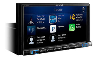 ALPINE i207-WRA Bluetooth Receiver Carplay Monitor For 2007-18 Jeep Wrangler JK