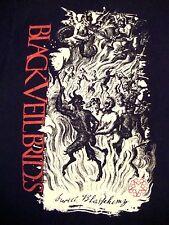 Black Veil Brides BVB Sweet Blasphemy Screamo Emo Heavy Metal Music T Shirt XS
