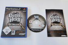 Guitar Hero Metallica PS2 Sony PlayStation 2