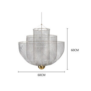 Meshmatics Chandelier LED Lamp Suspension Pendant Ceiling Light Gift Replica