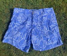 Mens Vilebrequin Swim Shorts. Colour - Blue. Size - XL