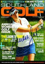SANDRA GAL LPGA Signed Golf Magazine PSA/DNA Guaranty Auto - GORGEOUS!