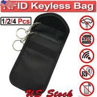 Car Key Signal Blocker Case Faraday Cage Fob Pouch Keyless RFID Blocking Bag US